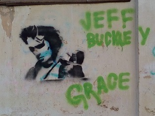 Graffiti von Jeff Buckley